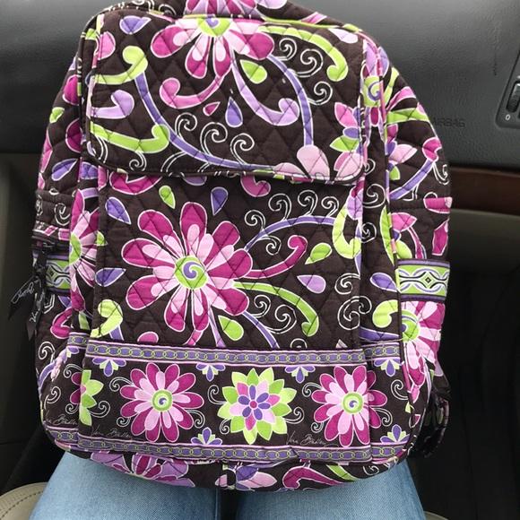 Vera Bradley Bags   Purple Punch Backpack   Poshmark 4dcddcc455